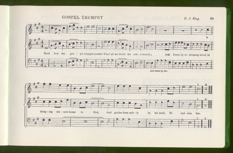 The Sacred Harp [Machine readable transcription]B F  White and E J