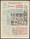 Diagrammatic photograph of Capone trial in Judge Wilkerson's court