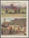 Thumbnail image of Afield in America with horse and hound