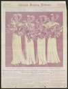 Thumbnail image of Four bridesmaids at a June wedding in Chicagoland