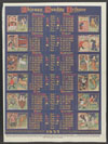 Thumbnail image of Chicago Tribune : illustrated calendar with signs of zodiac