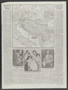 Thumbnail image of Spark of war flares in Balkans : at the outbreak of the war in 1914 : map