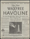 Waxfree Havoline (Indian Refining Company)
