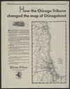 Thumbnail image of Chicago Tribune : how the Chicago Tribune changed the map of Chicagoland
