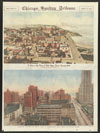 Bird's-eye view of Lake Shore Drive Chicago 1889