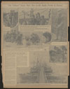 Thumbnail image of The Tribune sends more men to the battle fronts in Europe : pontoon bridge across the Scheldt at Antwerp