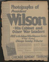 Chicago Tribune : photographs of President Wilson