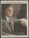 Thumbnail image of Franklin Delano Roosevelt today enters upon his second year as president