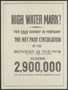 New York's Picture Newspaper : high water mark