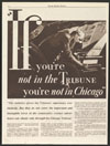Thumbnail image of Chicago Tribune : if you're not in the Tribune, you're not in Chicago