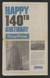 Thumbnail image of Chicago Tribune : happy 140th birthday Chicago Tribune