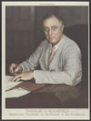 Franklin D. Roosevelt : Democratic candidate for re-election to the presidency