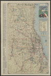 Thumbnail image of Chicagoland 1930 : special detailed road map
