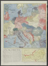 Thumbnail image of A war map of Central Europe : map of Central Europe