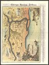Thumbnail image of Map of Chicago one hundred years ago