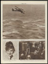 The Mollison's plane over the Atlantic