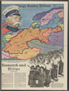Bismarck and Hitler : map of central Europe