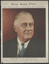 Thumbnail image of Democratic candidate for president--Franklin D. Roosevelt