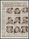 Thumbnail image of Chicago Tribune : 10,000 in cash prizes for solving Misplaced Faces of Movie Stars