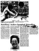 Auxiliary Makes Hospital Friendlier
