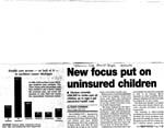 New Focus Put on Uninsured Children