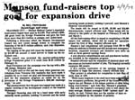 Munson Fundraisers Top Goal for Expansion Drive