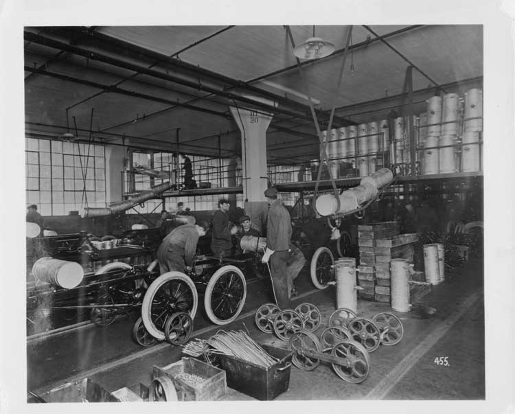 The making of modern michigan digitizing michigan 39 s for Ford motor company payroll services