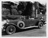 1929 Packard phaeton with owner Gary Cooper behind wheel