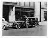 1932 Packard sedan limousine at New York City Packard dealership