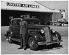 1936 Packard one twenty touring sedan and United Airlines pilot Capt. Sullivan