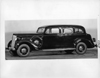 1937 Packard touring sedan, nine-tenths left side view