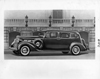 1937 Packard touring sedan behind the Detroit Institute of Arts