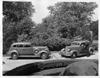 1937 Packards parked on drive at Packard Proving Grounds