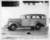 1937 Packard station wagon, nine-tenths left side view