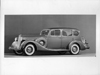 1937 Packard touring sedan, seven-eights left side view,