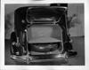 1937 Packard touring sedan, view of built-in trunk
