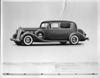 1937 Packard club sedan, nine-tenths left side view