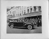 1938 Packard convertible sedan with King Leopold of Belgium in a reception parade