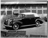 1938 Packard convertible sedan, seven-eights left side view, top raised