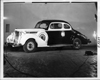 1938 Packard club coupe, seven-eights left side view