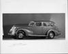 1938 Packard touring sedan, nine-tenths left side view