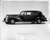1938 Packard club sedan, nine-tenths left side view