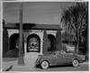 1939 Packard convertible coupe in front of Memory Garden, San Fernando, Calif.