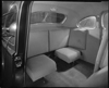 1940 Packard club coupe, view of rear interior through passenger side door, auxiliary seats open