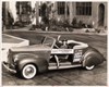 1941 Packard deluxe convertible coupe with clutch advertisement