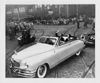1949 Packard convertible victoria, with Mr. & Mrs. Thomas E. Dewey in back seat