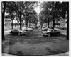 1954 Packard models displayed at entrance to Packard Proving Grounds