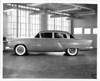 1955 Packard Clipper, left side view, full size clay model