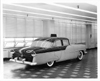 1955 Packard Super Clipper, seven-eights left rear view, full size clay model
