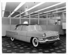 1955 Packard Patrician, three-quarter left front view, full size clay model